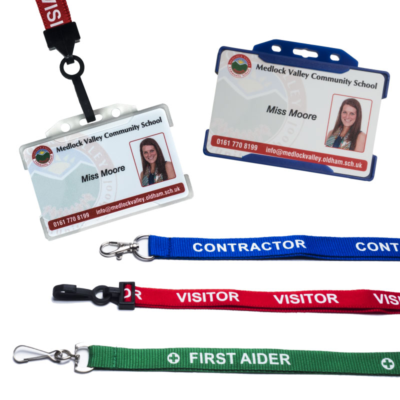 Lanyards, Card holder, Visitors Pass Holders