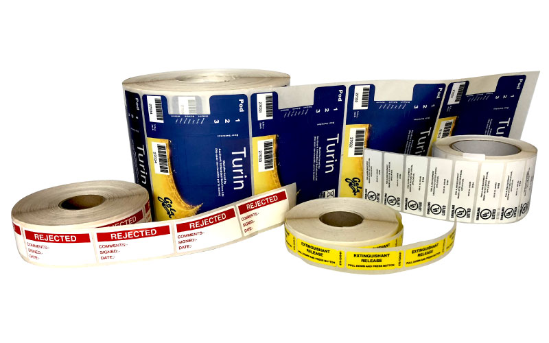 Roll Labels UL Approved PGAA PGDQ2
